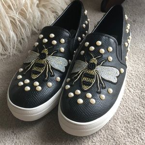 d934a83ab8b Steve Madden embellished sneakers